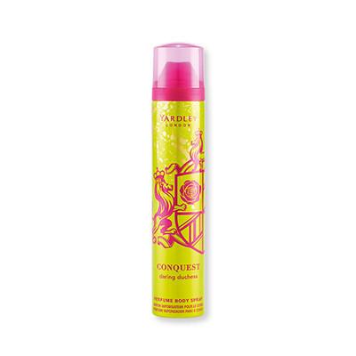 Yardley Conquest Daring Duchess Eau Perfumed Body Spray