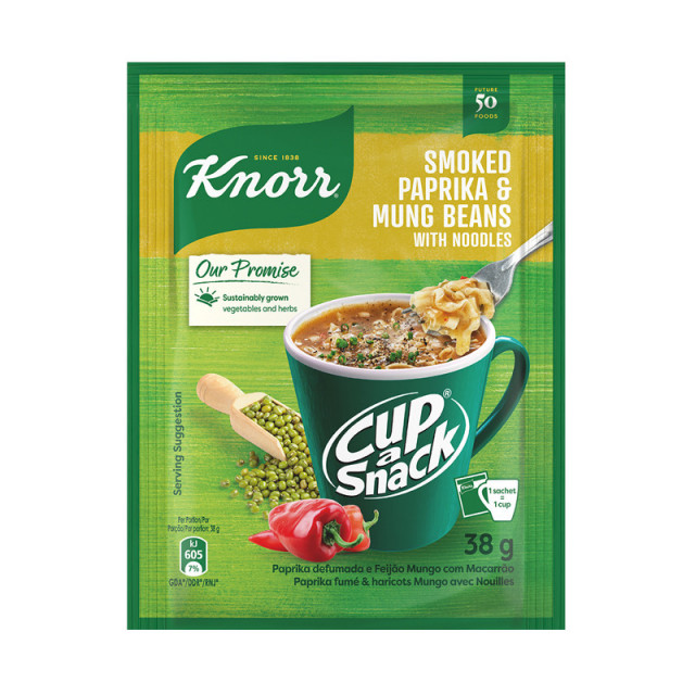 Knorr Cup-a-Snack Smoked Paprika & Mung Beans