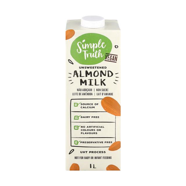 1l Simple Truth Unsweetened Almond Milk