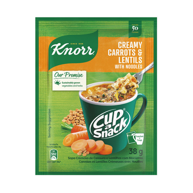 Knorr Cup-a-Snack Roasted Carrots & Lentils