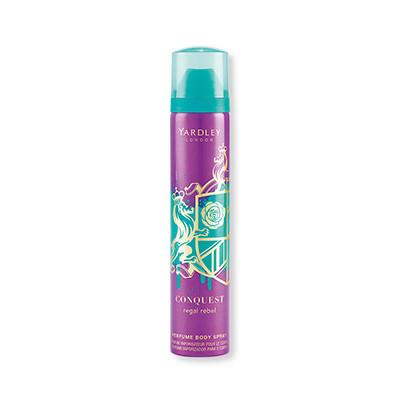 Yardley Conquest Regal Rebel Eau Perfumed Body Spray