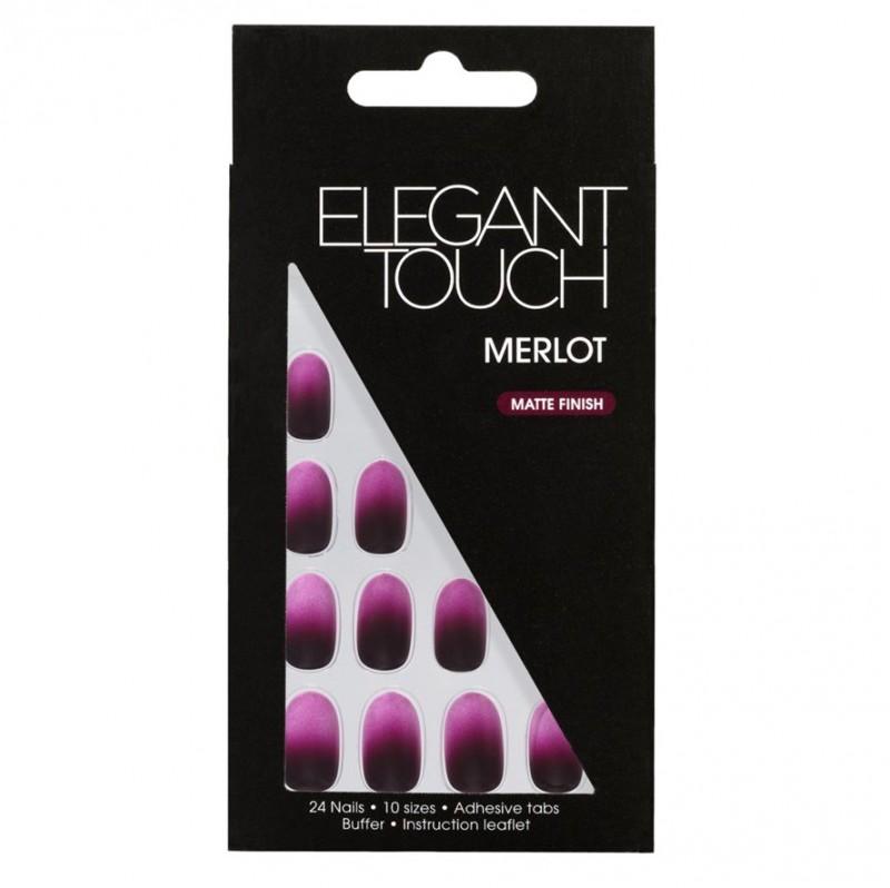 Elegant Touch Nails Merlot Matte Finish