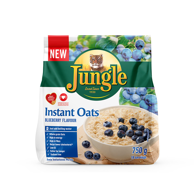 Blueberry Jungle Instant Oats 750g